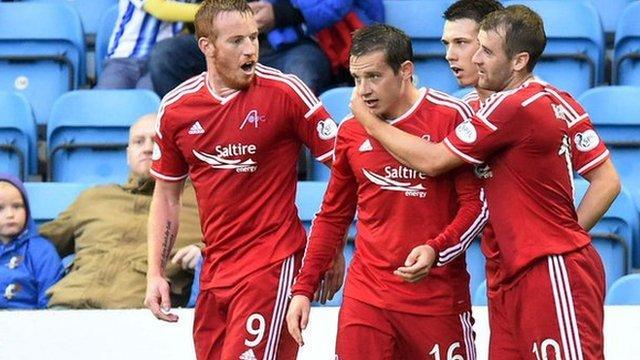 Highlights - Kilmarnock 0-2 Aberdeen