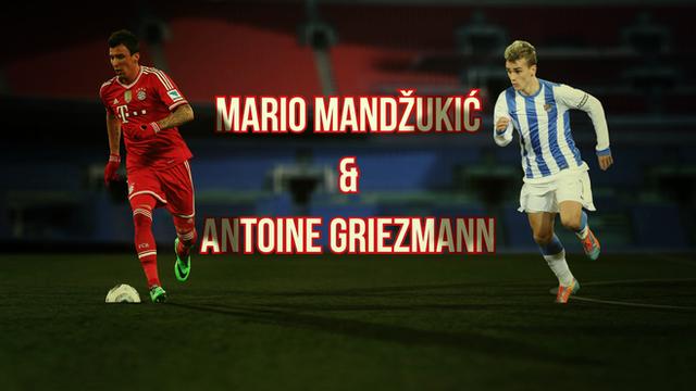 New Atletico signings Mario Mandzukic and Antoine Griezmann