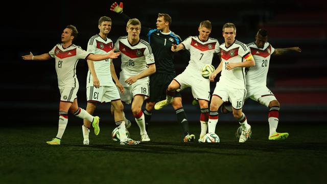 Bayern's World Cup winning stars