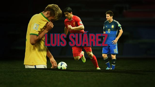 New Barcelona signing Luis Suarez