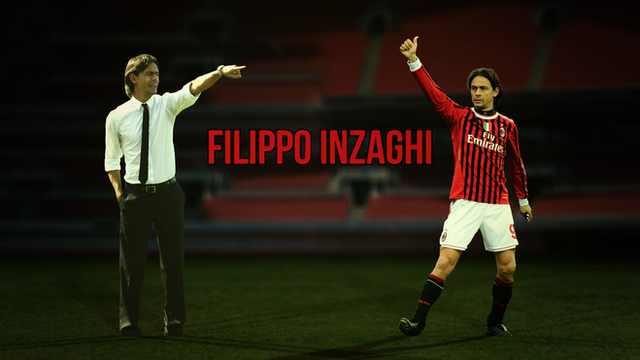 Former Milan player Filippo Inzaghi is now manager at the club