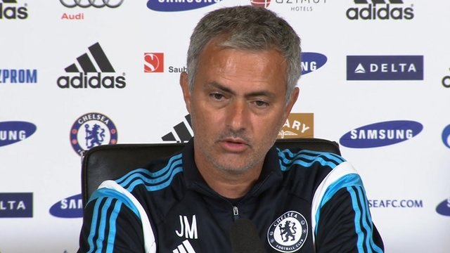 Jose Mourinho says Petr Cech or Thibaut Courtois could leave Chelsea