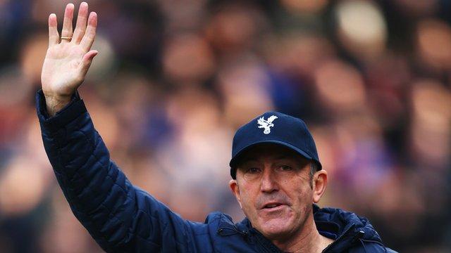 Former Crystal Palace manager Tony Pulis