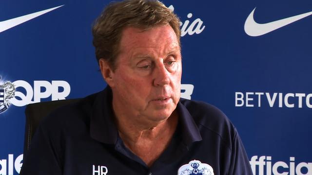 Queens Park Rangers manager Harry Redknapp