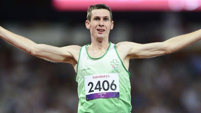 Paralympic champion Michael McKillop