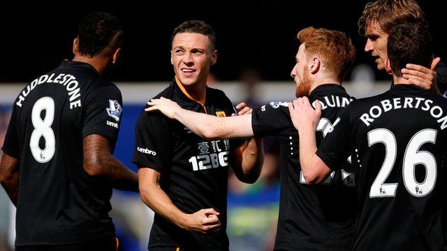 QPR 0-1 Hull: Steve Bruce praises 'terrific' James Chester