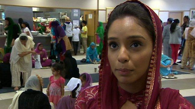 Scottish Asian woman