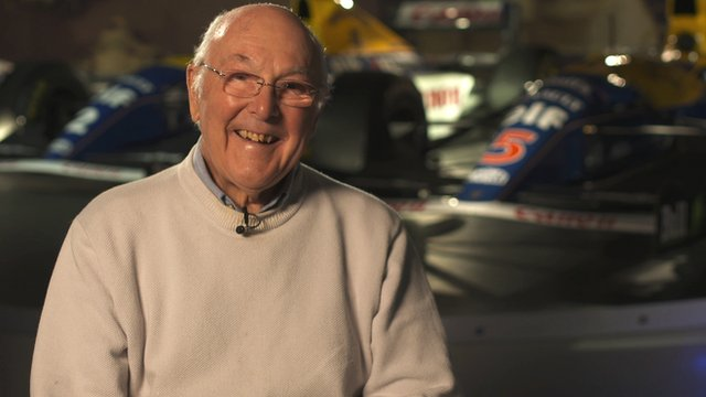 Formula 1 commentary legend Murray Walker