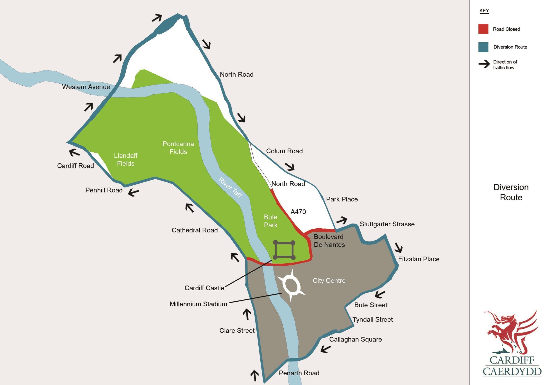 Map cyfyngiadau