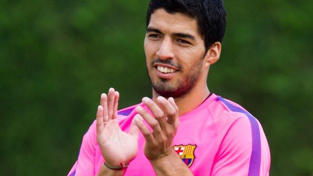 Uruguayan Luis Suarez has joined Barcelona