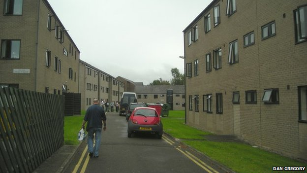 Student halls at Lampeter