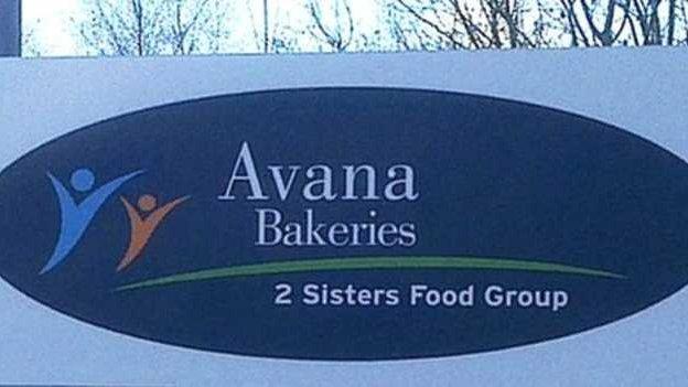 Arwydd becws Avana
