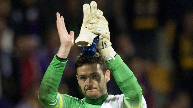 Scotland goalkeeper Craig Gordon