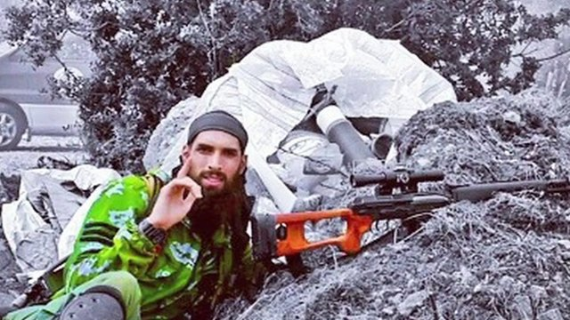 Dutch jihadi in Syria