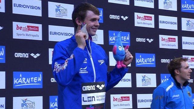 Great Britain swimmer Ross Murdoch