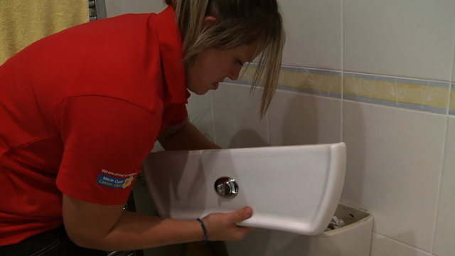 World Cup winner Marlie Packer back to the day job as a plumber