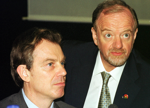 Tony Blair and Robin Cook