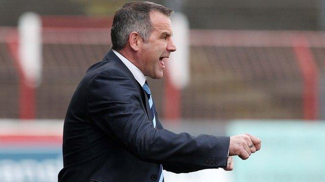 Ballymena boss Glenn Ferguson