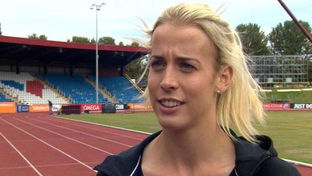 Commonwealth Games 800m silver medallist Lynsay Sharp