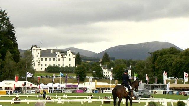 Blair Castle Horse trails preview