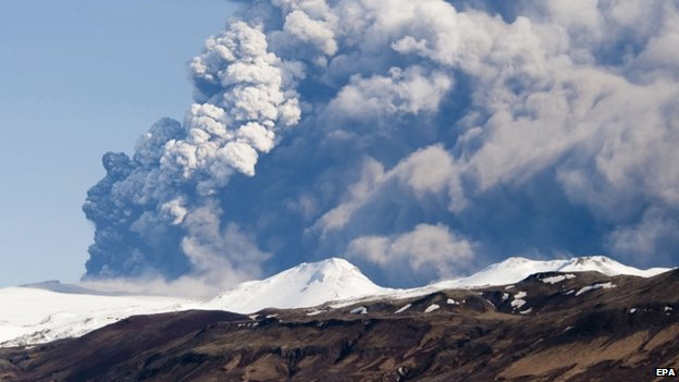 Eyjafjallajokull eruption (18 April 2010)