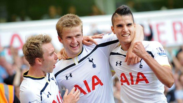 Tottenham 4-0 QPR: Pochettino says Erik Lamela just needed time