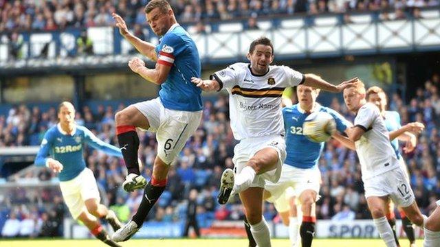 Highlights - Rangers 4-1 Dumbarton