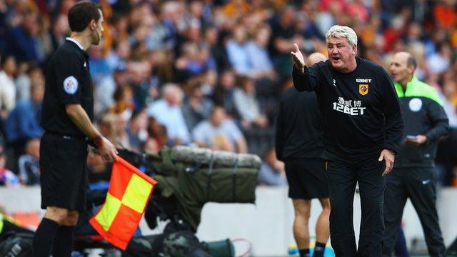 Hull City manager Steve Bruce