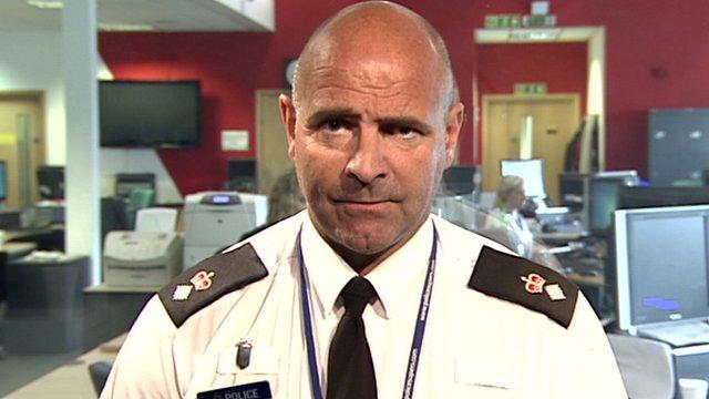 South Yorkshire Chief Superintendent Jason Harwin