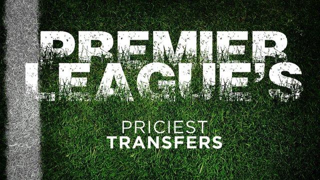 Top 10 priciest transfers