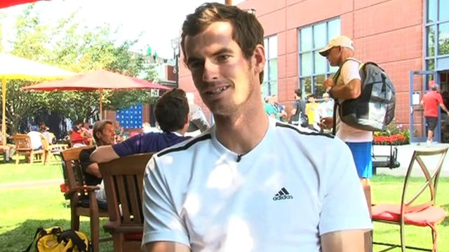 2012 US Open champion Andy Murray