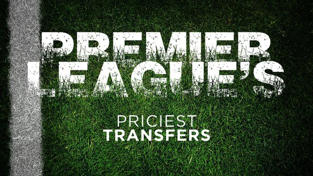 Top 10 priciest transfers