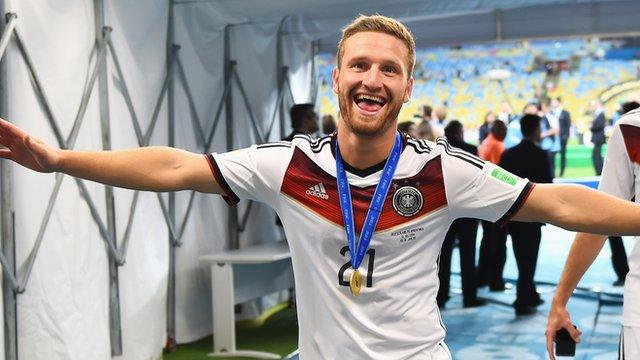 Valencia's Shkodran Mustafi looks back at Germany World Cup glory