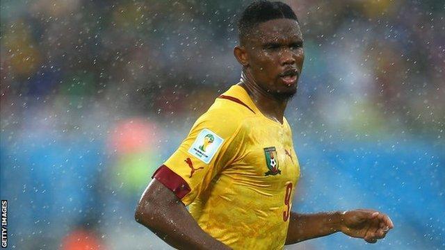 Former Cameroon captain Samuel Eto'o