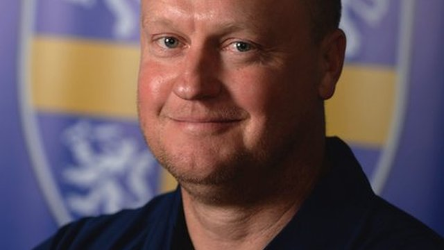 Durham head coach Jon Lewis