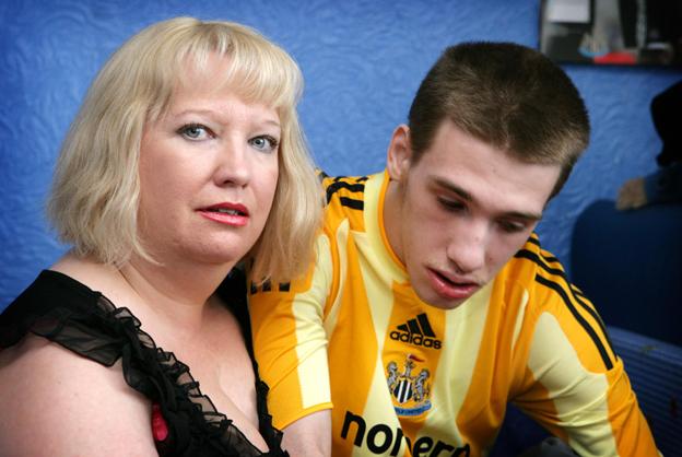 Sharon Bernardi with Edward