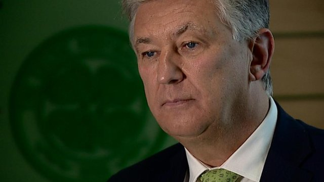 Interview - Celtic chairman Peter Lawwell