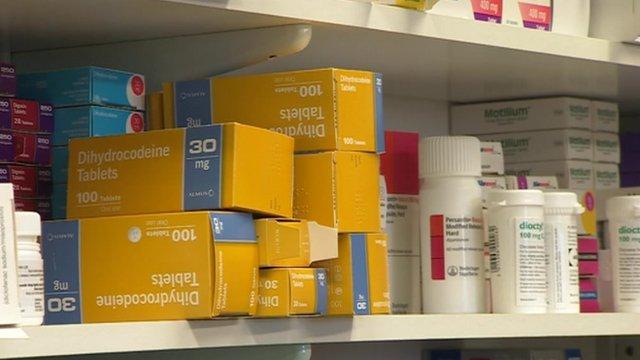 Medication in pharmacy