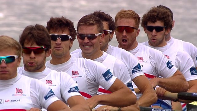 Great Britain's men's eight rowing crew