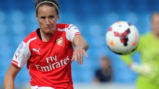 Women's Super League: Arsenal climb table after Birmingham win