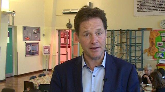 Nick Clegg MP