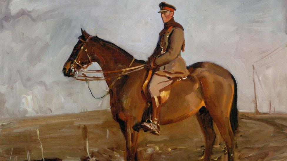 Church service commemorates eight million fallen warhorses