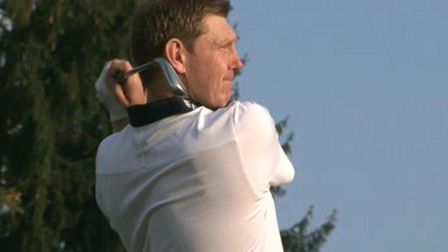 Team Europe Ryder Cup member Stephen Gallacher