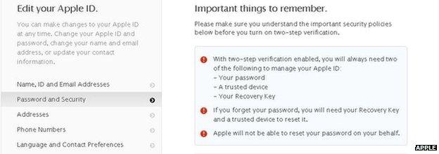 Apple iCloud Security