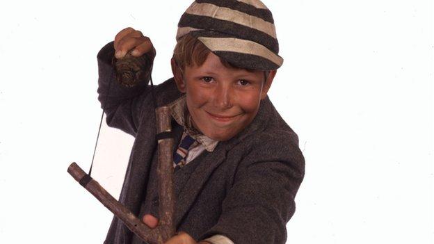 Actor in the BBC's Just William series