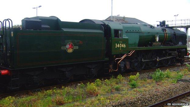 Braunton engine