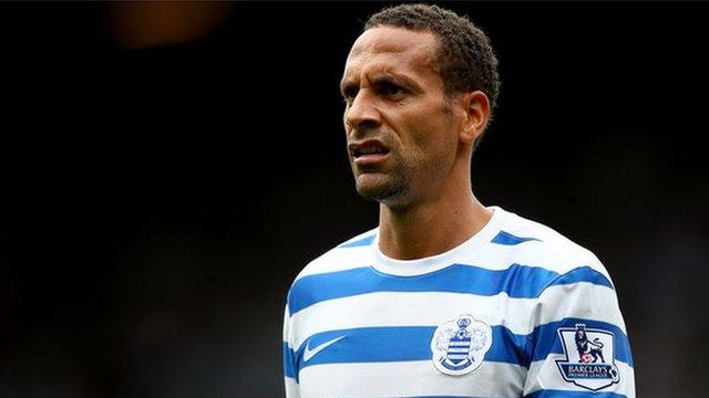 Former England captain and Queens Park Rangers defender Rio Ferdinand