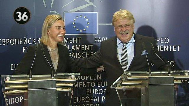 EU press conference