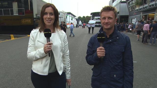 BBC Sport's Lee McKenzie and Allan McNish