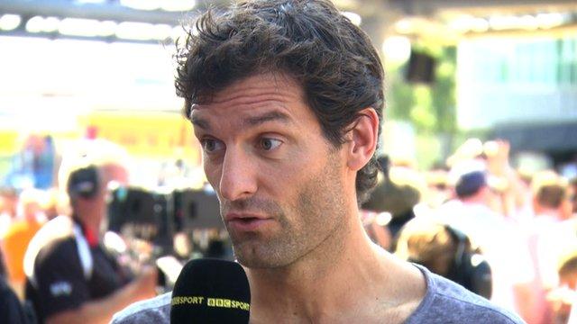 Mark Webber on Hamilton-Rosberg rivalry